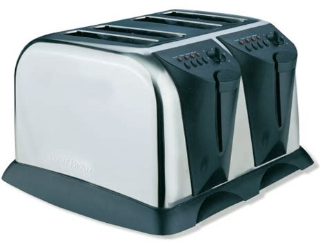 4 Slice Toaster Deals Discount Deals West Bend 4 Slice Toaster Stainless Steel