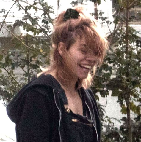 dog house london billie piper is all smiles outside her home with her pet dog decorating her house