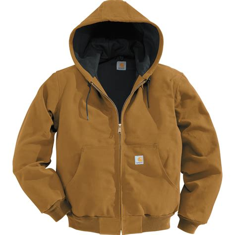 carhartt coat carhartt s duck active jacket thermal lined big style model j131 northern
