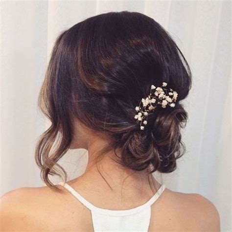 Simple And Hairstyles by 16 Simple Bridal Hairstyles For The Of 2018 Arabia