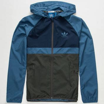 Adidas Kombo Blue adidas adv mens windbreaker blue combo in from tilly s