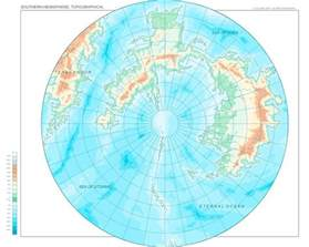 jhendor southern hemisphere topographical map