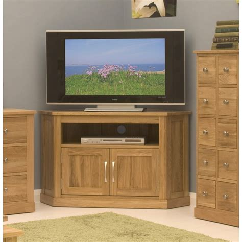 tv cabinet in living room conran solid oak living room furniture corner television cabinet stand unit ebay
