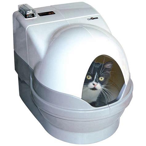 cassetta gatti autopulente catgenie 232 l unica lettiera automatica si pulisce da sola