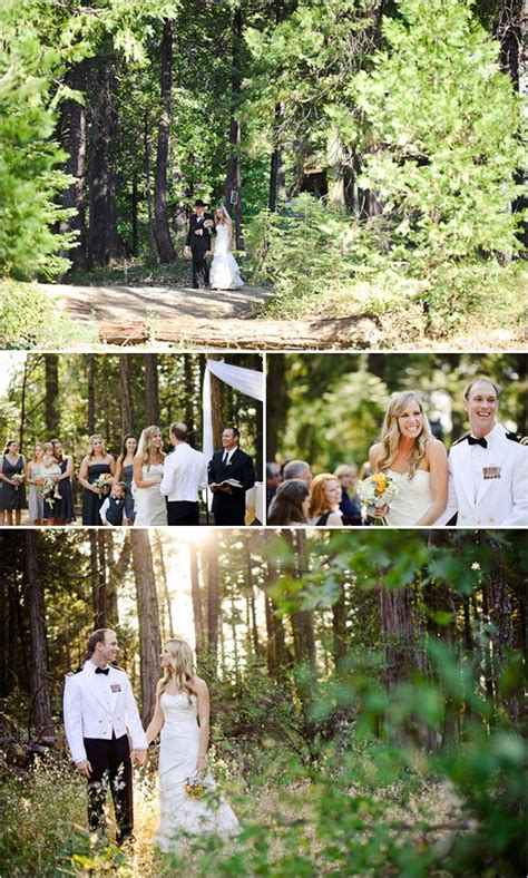 woodsy wedding locations california woodsy rustic wedding in paradise springs trees cas and wedding
