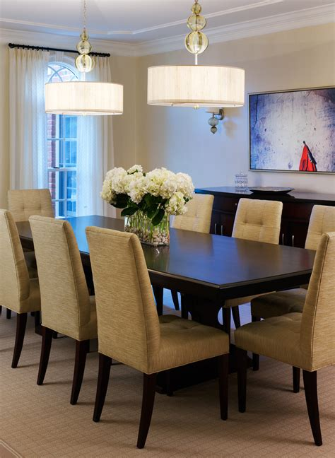 Decorating Ideas For Dining Room Table Stunning Simple Dining Room Table Centerpieces Decorating