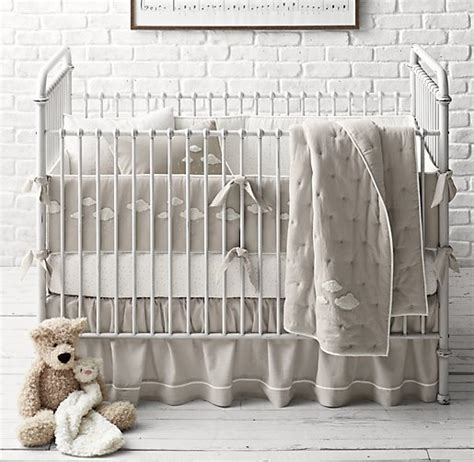 cloud crib bedding boucl 233 cloud nursery bedding collection