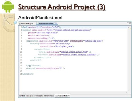 android layout xml structure getting started with android