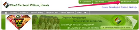 Electoral Roll Search Ceo Kerala Complete Information And Helpdesk