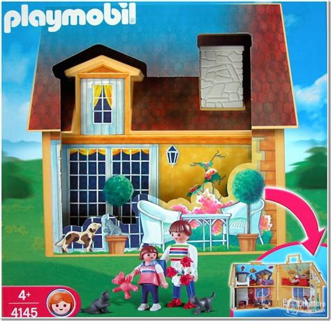 playmobil dolls house playmobil set 4145 my take along doll house klickypedia