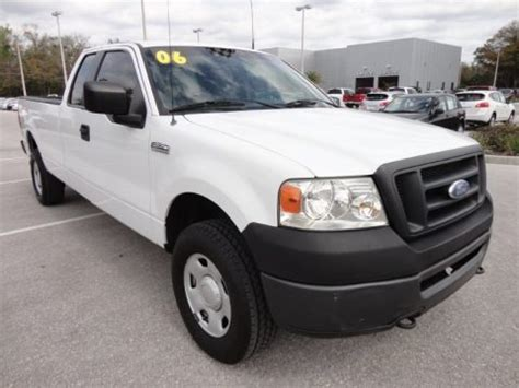 2006 F150 Specs by 2006 Ford F150 Xl Supercab 4x4 Data Info And Specs