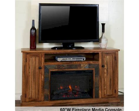 fireplace console fireplace media console sedona by designs su 3488ro