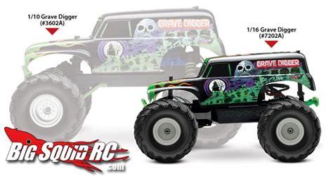 traxxas grave digger rc monster truck traxxas 1 16 monster jam grave digger official pr 171 big