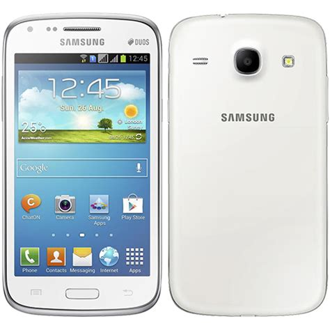 themes samsung core duos samsung galaxy core duos i8262 chic white smartphone