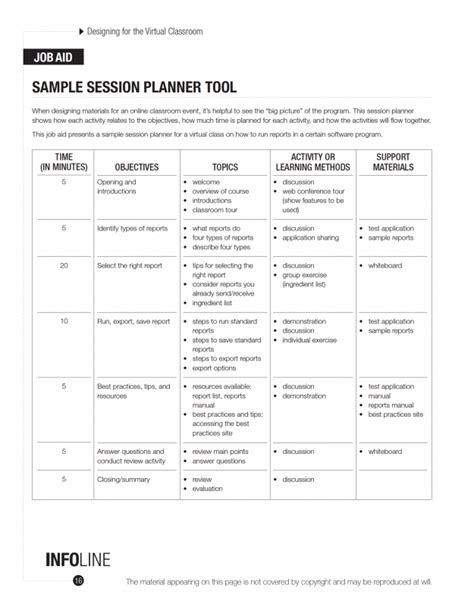 facilitator guide template checklists templates archives huggett