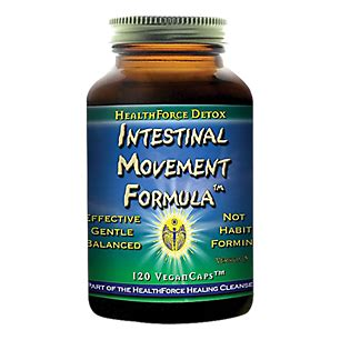 Healthforce Detox Intestinal Movement Formula by Intestinal Movement Formula 120 Vegancaps By Healthforce