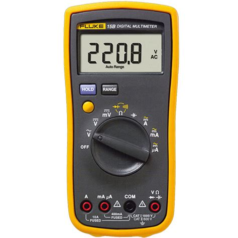 17b Fluke Digital Multimeter Ac Voltage 400mv To 1000v fluke 15b digital multimeter meter radioshop888 rt roip1