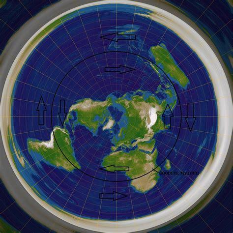 flat world map image flat earth mahrai ziller