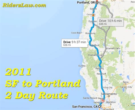 Pch To San Francisco - pacific coast road trip from san francisco to portland riderz blog