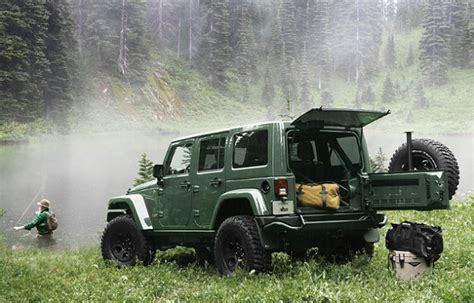 jeep brute filson aev and filson team up again for limited edition wrangler