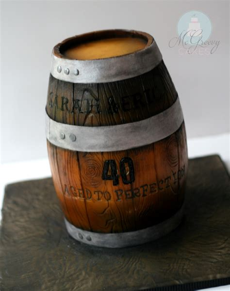 barrel cake how to a wooden barrel cake mcgreevy cakes