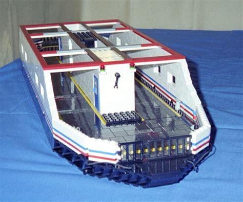 lego boat deck car ferry downloadable lego instructions lions gate models