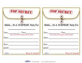Printable top secret simple white embossed paper top secret surprise