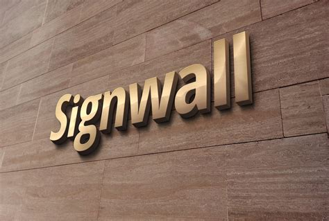3d wall logo mockup template free 3d wall logo mockup 2 graphicburger