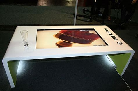 High Tech Coffee Table Itable Hi Tech Multi Touch Coffee Table Luxurylaunches