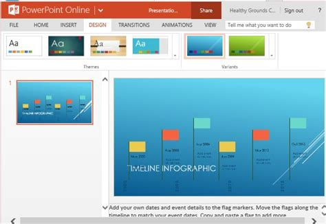 template for powerpoint generator timeline infographic maker template for powerpoint
