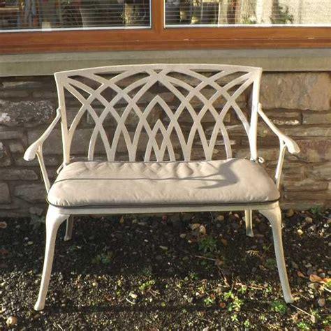 sandstone garden bench waverley sandstone 2 seat garden bench