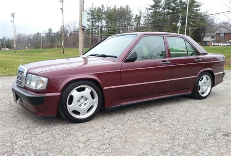 Mercedes 190e For Sale by 1988 Mercedes 190e V8 5 Speed For Sale On Bat