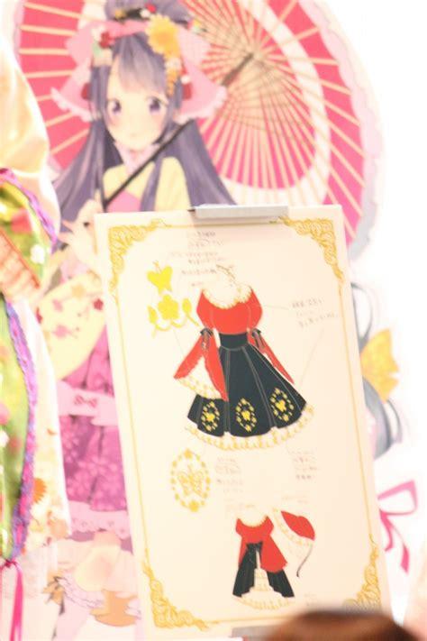 kimono pattern anime crunchyroll kimono pattern makers collaborate on lolita
