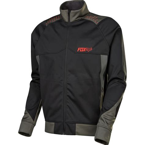 mens mtb jacket fox racing bionic light softshell jacket s