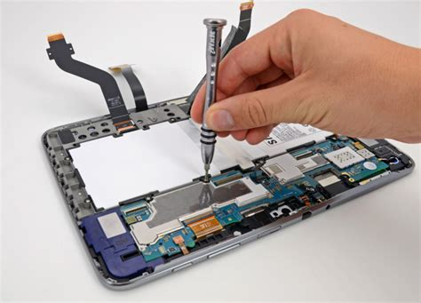 Fix A Floor 10 1 Samsung Galaxy Note 10 1 Is Highly Repairable Gets