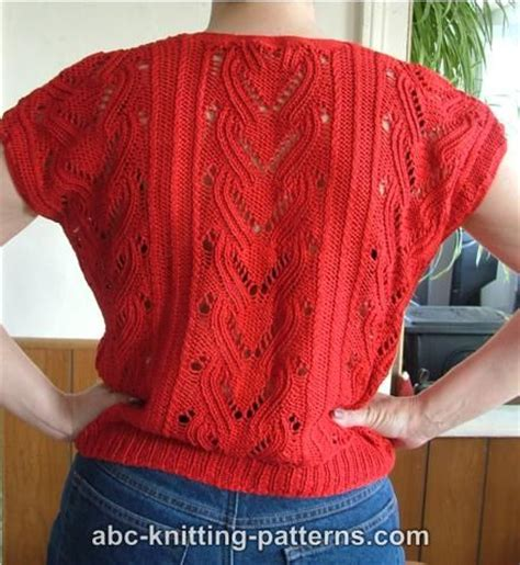 knitting patterns summer tops abc knitting patterns knitted summer top