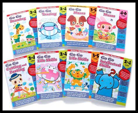 gakken s go go series activity workbooks for 2 5 year olds