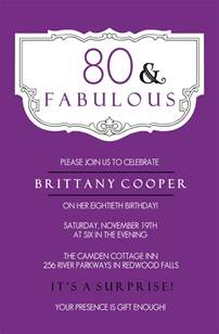 80th birthday invitations templates invitation templates free birthday 80th images