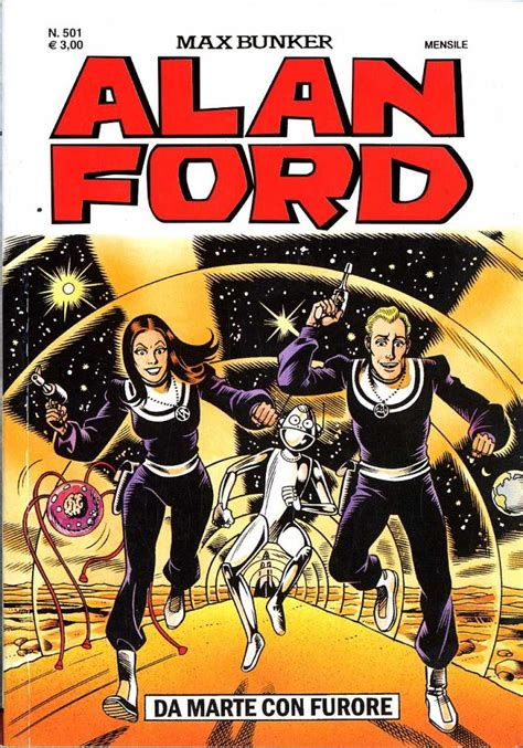 Alan Ford by Alan Ford 501 Da Marte Con Furore Issue