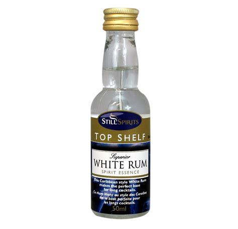 top shelf white rum essence