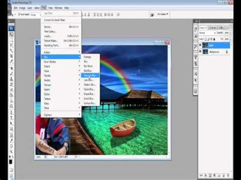 tutorial membuat background smudge cara membuat background foto menjadi blur di photoshop