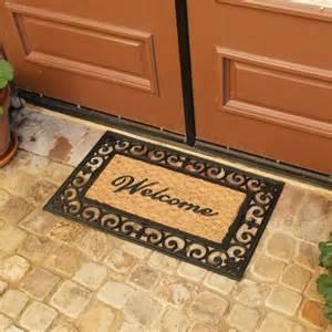 Front Door Welcome Mat Quot Welcome To Your Fortress Quot Welcome Door Mat