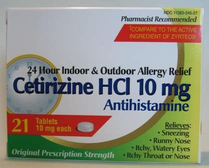 Obat Cetirizine Hcl 10 cetirizine hcl 10 mg 21 ct