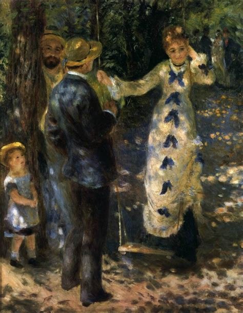 the swing renoir renoir la vie en peinture associazione millenuvole
