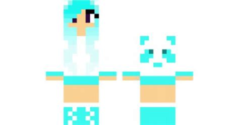 Black Panda Pink Mc minecraft skin blue panda find it with our new