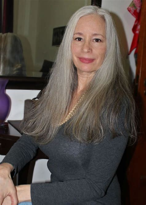 see models with sheik gray colo hair styles 293 best images about hot older women on pinterest