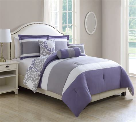 purple and gray comforter sets lavender and grey bedding purple and gray comforter sets