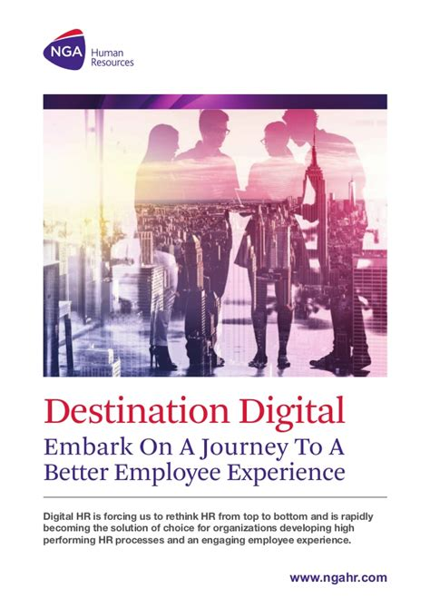 Journey To Be Employer Of Choice Soft Cover nga digital hr destination digital embark on a journey to a better