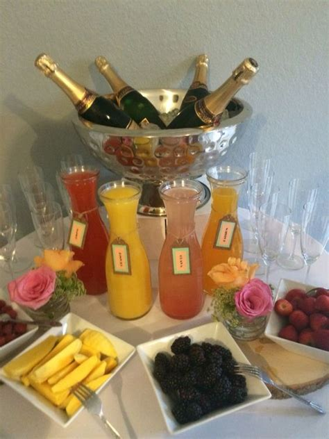 Bar Ideas For Baby Shower by Mimosa Bar Baby Showers And The O Jays On