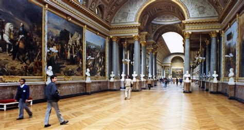 Louvre Interior by World Visits Louvre Museum Central Landmark Of And